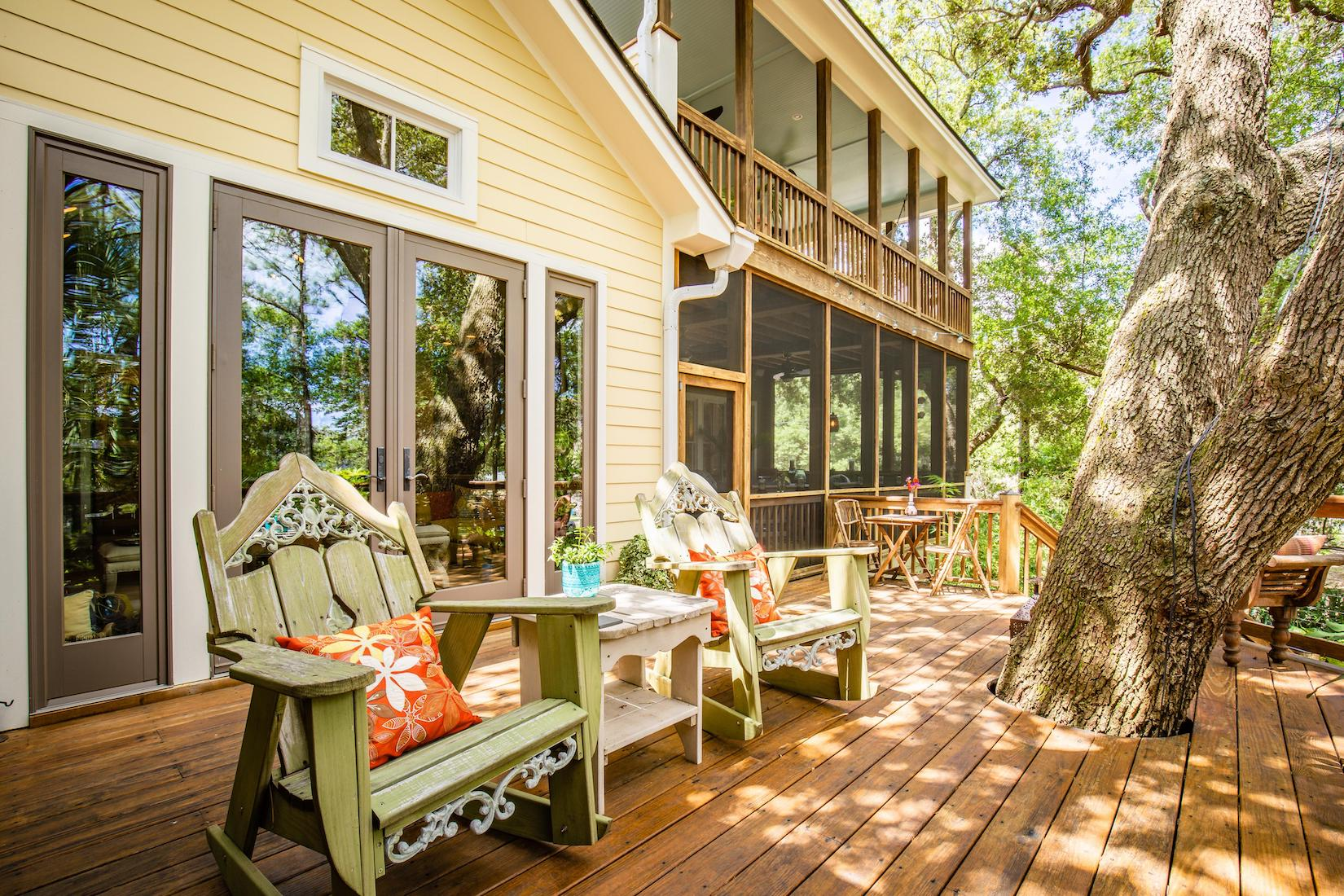 420 E Cooper Folly Beach SC.Rear.Porch.LuxurySimplifiedRealEstate.BLOG