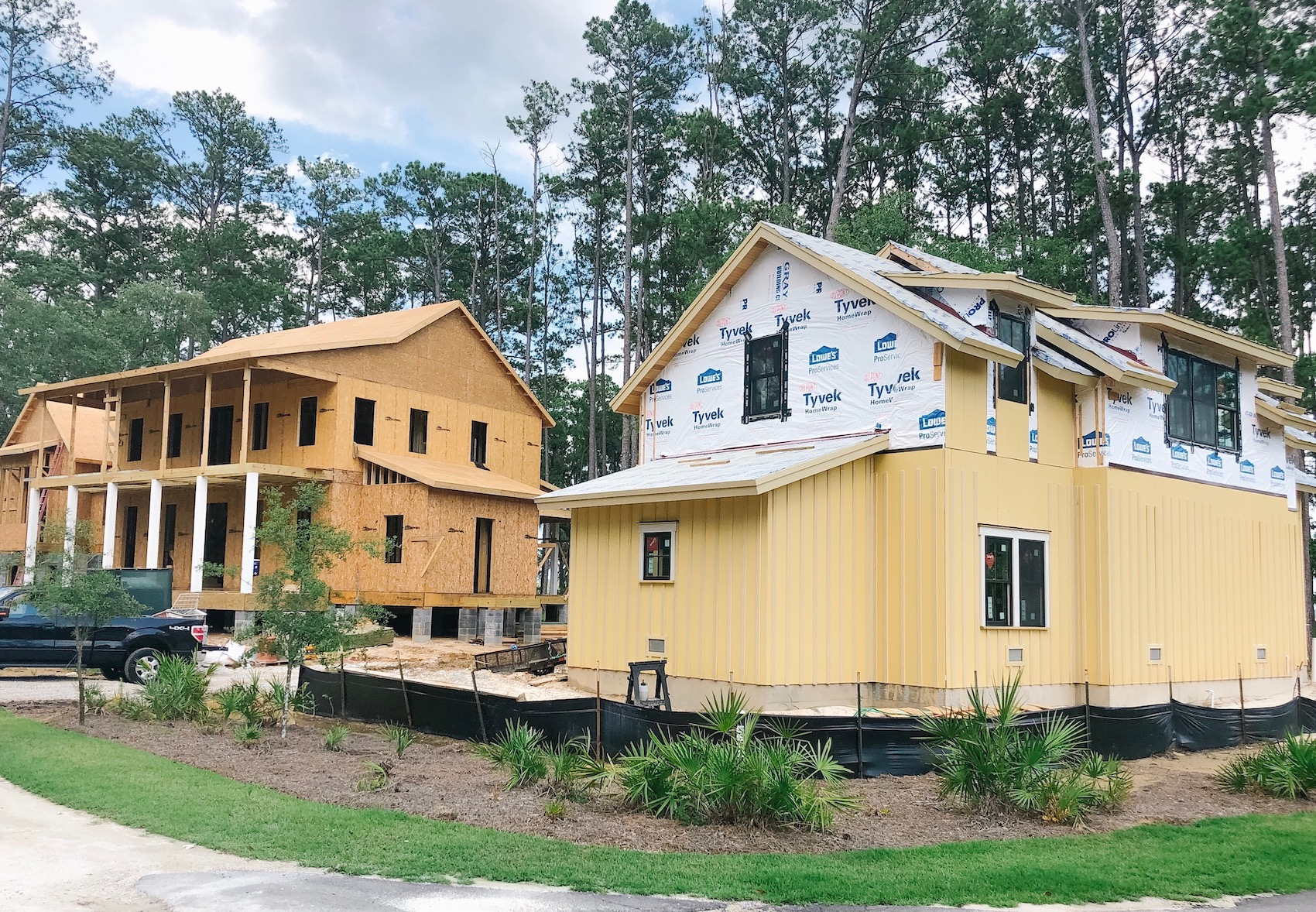 Simplified Construction.Building in Palmetto Bluff.Week 10